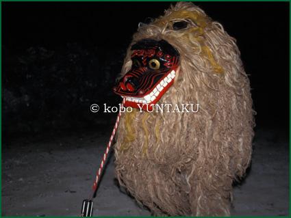 黒島|獅子舞